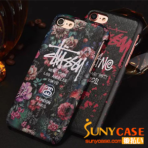 stussy iPhone7plusケー 蛍光